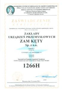 Certyfikat NATO
